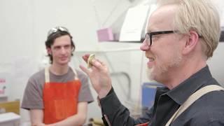 Adam Savage's Maker Tour: Making a Metal Fidget Spinner