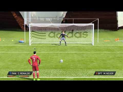 FIFA 15- Стили игры вратаря при пенальти \ Penalty saving styles for goalkeepers