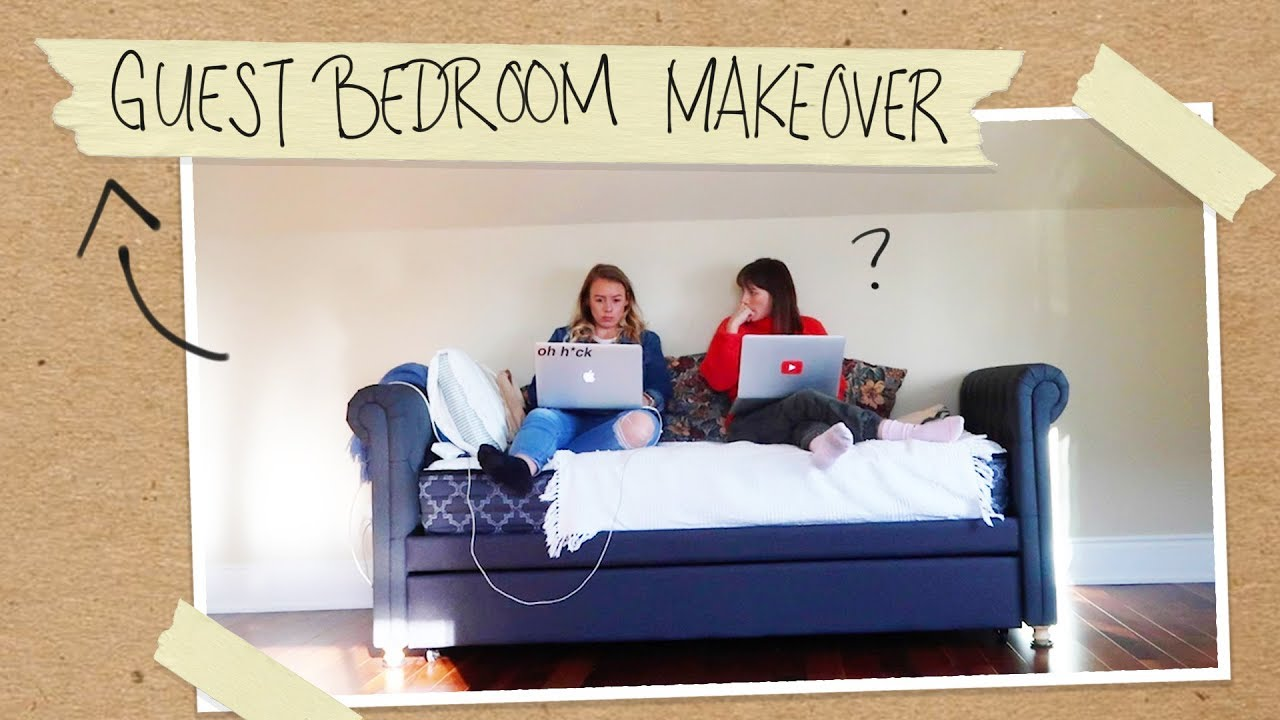Two Sisters One Epic Room Makeover Youtube
