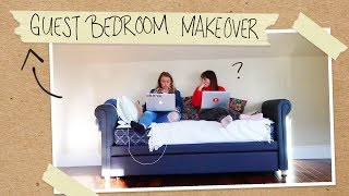 two sisters, one EPIC room makeover