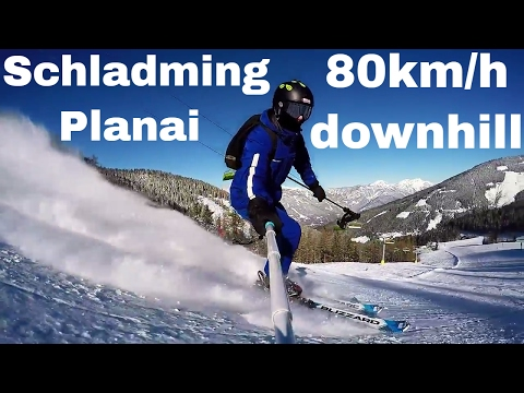 Schladming – Planai 2018 HD / 80km/h downhill / Gopro5