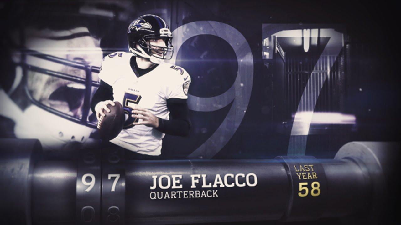brand new 224f7 e133e #97 Joe Flacco (QB, Ravens) | Top 100 Players of 2015