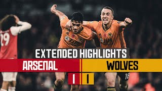 Raul earns Wolves a point! | Arsenal 1-1 Wolves | Extended highlights