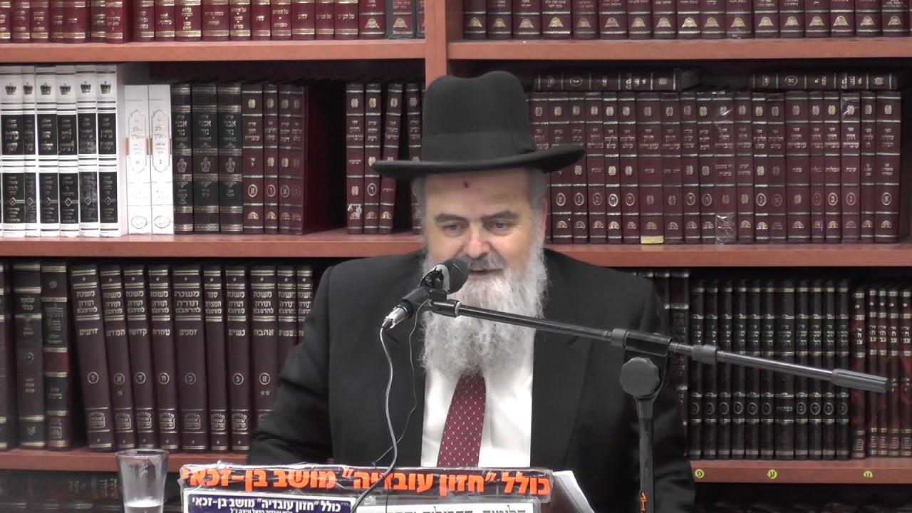 הרב אהרן בוטבול :  פרשת זכור . וכן  מצוות יום פורים .