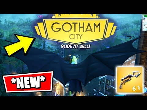 FORTNITE WELCOME TO GOTHAM EVENT *RIGHT NOW* (GOTHAM CITY TILTED TOWERS BATMAN GAMEPLAY)