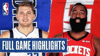 MAVERICKS at ROCKETS | FULL GAME HIGHLIGHTS | November 24, 2019 Video