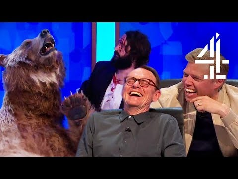 Joe Wilkinson Brings A DRUNK Bear On The !!  8 Out of 10 Cats Does Countdown