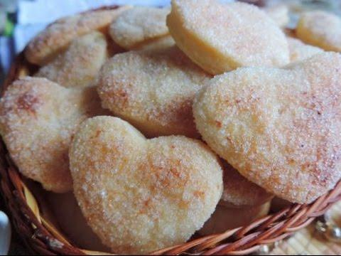 Легкий и простой рецепт. Творожное печенье слойка.