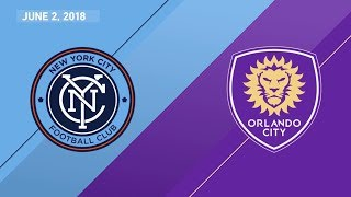 Video Gol Pertandingan New York City FC vs Orlando City SC