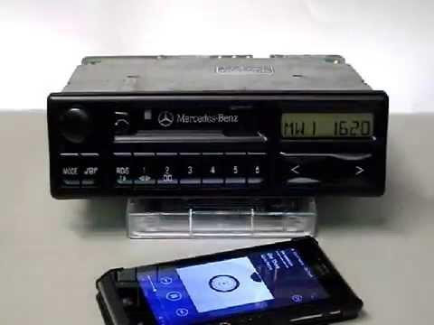 DIGITAL VINTAGE CAR RADIO UPGRADE BLUETOOTH