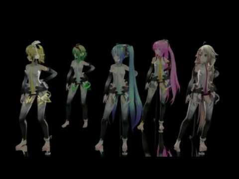VOCALOID MMD: Pomp and Circumstance If you do do +hun sub