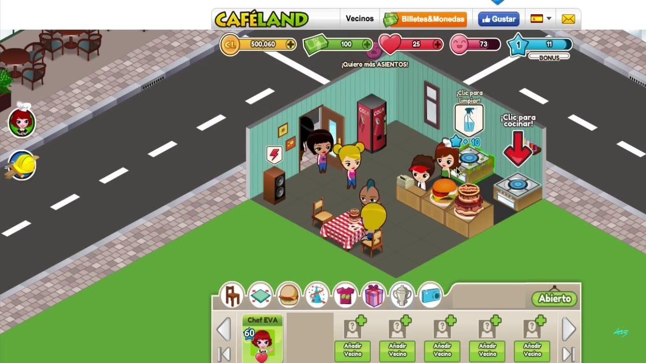 CafeLand - Game - Face...