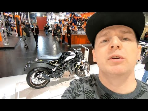 HUSQVARNA VITPILEN  ALL NEW MODEL  MODERN STREET BIKE WALKAROUND