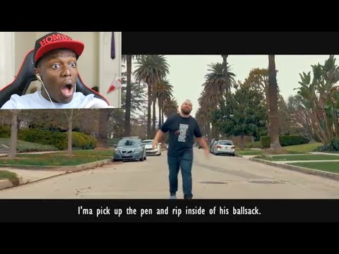 KSI REACTS to Deji x Jallow x Dax x Crypt - Unforgivable (KSI DISS TRACK) Official Video