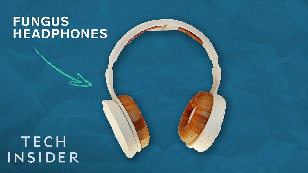 Headphones Made Of Fungus Could Change How We Use Plastic And Leather