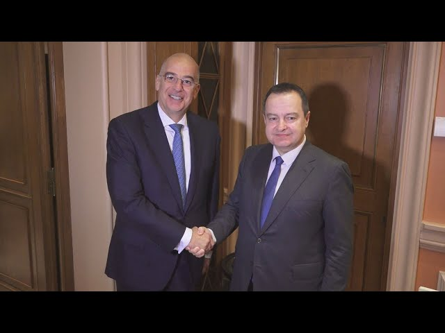 <span class='as_h2'><a href='https://webtv.eklogika.gr/synantisi-toy-ypoyrgoy-exoterikon-n-dendia-me-to-servo-omologo-toy' target='_blank' title='Συνάντηση του υπουργού Εξωτερικών Ν. Δένδια με το Σέρβο ομόλογο του'>Συνάντηση του υπουργού Εξωτερικών Ν. Δένδια με το Σέρβο ομόλογο του</a></span>