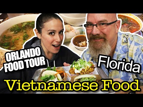 Best Vietnamese Places To Eat In Orlando, Florida - Feat. Julia From HellthyJunkFood