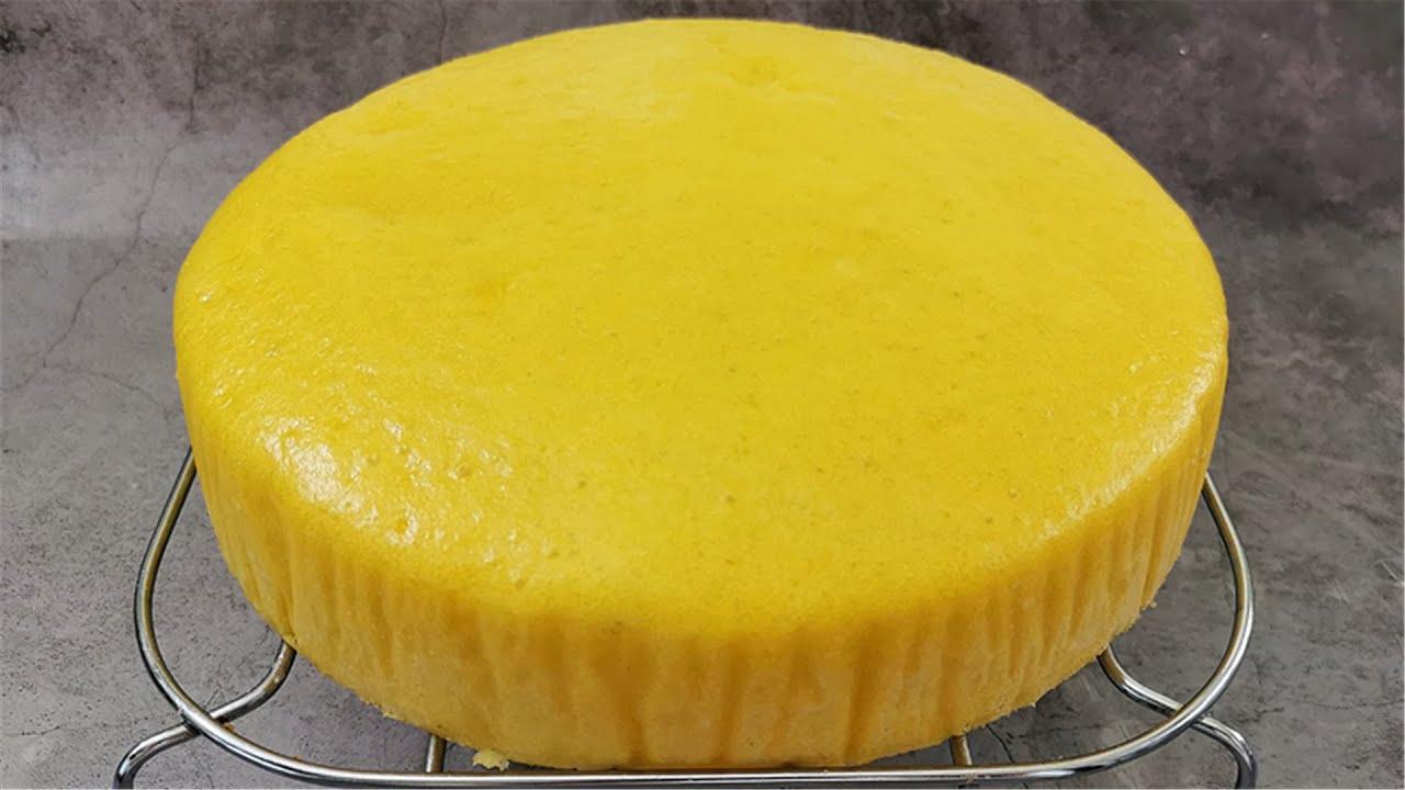 南瓜发糕最好吃的新做法,软糯Q弹,特别筋道,做法比馒头还简单