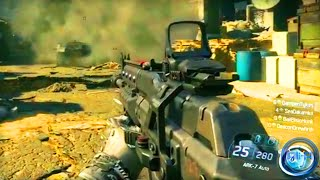 Call of Duty: Black Ops 3 GAMEPLAY - 4 Player Mission! (COD BO3 2015)