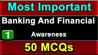 Banking And Financial Awareness  | Important -50 MCQ | Bank & SSC | Part-1