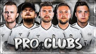 Der START einer neuen ÄRA 🔥😱 CREW PRO CLUB #1 Einer RASTET KOMPLETT AUS !! FIFA 19