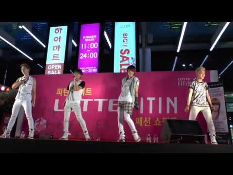 130803 NewUs (뉴어스) -- Love Panic (Lotte Fitin Performance) [Saeko2PM]
