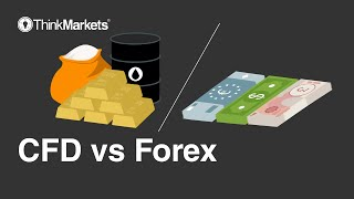 CFD vs. Forex trading