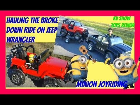 Part 1 Drunk Minion Joyride At The Park Kruz Came To The Rescue After The Ride On Jeep Broke Down