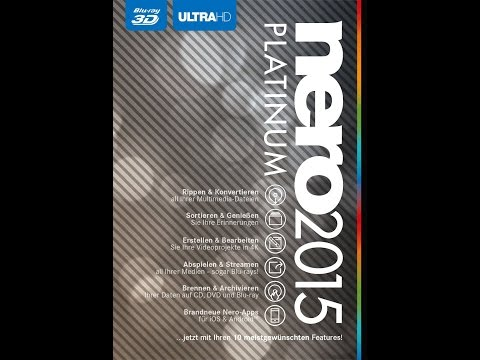 How to install Nero 2015 Platinum Edition + serial + FREE Download