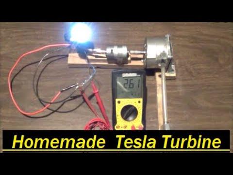 Homemade Tesla Turbine still producing power after 5 years!