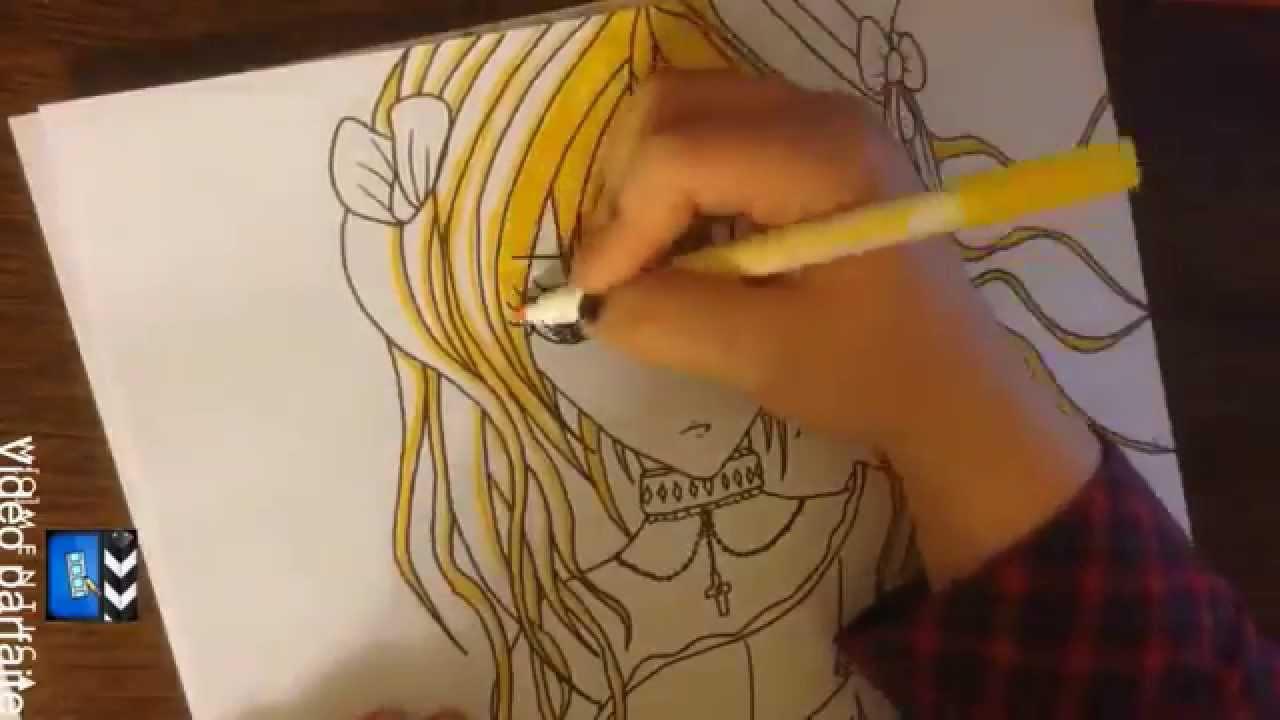 Dessiner Un Manga Gothique Youtube