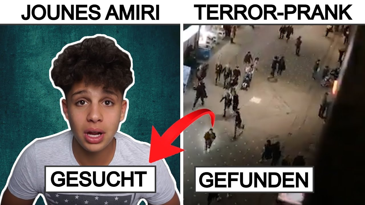 Youtuber Jounes Amiri Verursacht Massenpanik Statement Youtube