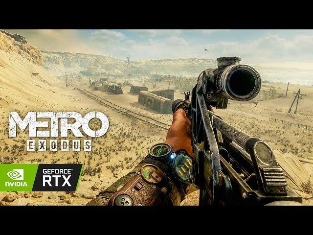 METRO EXODUS Ultra Réaliste en 4K avec la RTX 2080 Ti ! (Ray Tracing + DLSS)