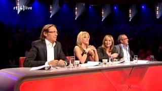 Lisa - X-factor NL 2009 - liveshow 2 - Rain down on me (Kane)