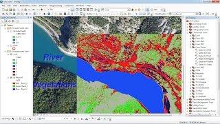 ArcGis Unsupervised Classification of satellite image