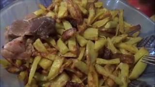 Обзор Аэрогриль Картошка Фри без масла Простые рецепты