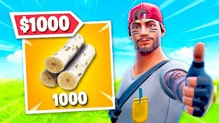 1000 WOOD = $1000 TO CHARITY!