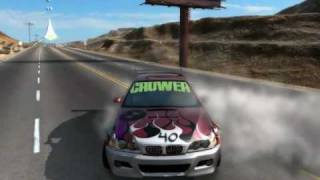 My NFS Prostreet Video + 1/4 mile drag world record  5.18 seconds