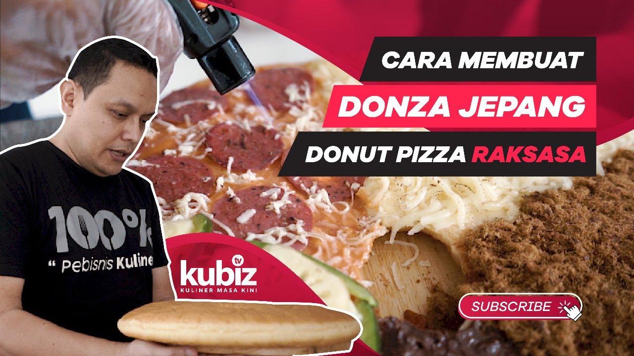 Peluang Bisnis Jadi Reseller Donat Pizza DONZA Lhoo - YouTube