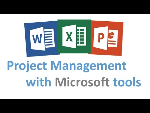 Project Management with Microsoft Tools - YouTube
