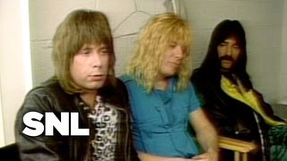 Spinal Tap Interview - Saturday Night Live
