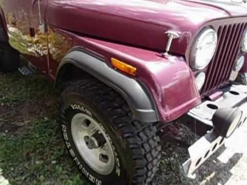 Vintage '78 Jeep CJ7 For Sale: West Portsmouth, Ohio