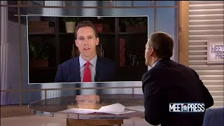 Full Hawley: 'Don't have to have Obamacare' to protect pre-existing conditions | Meet The Press