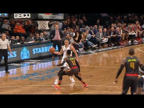 Jeremy Lin Highlights - 4/2/17 Hawks at Nets
