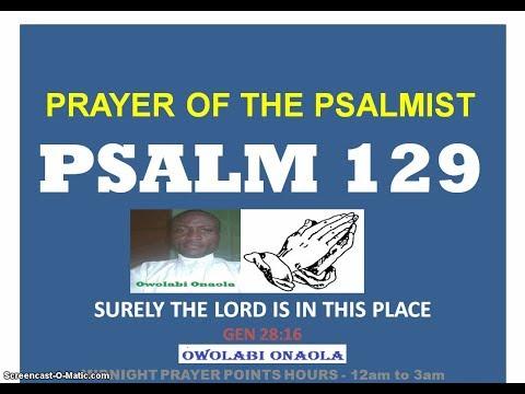 Midnight Prayer Point Hours 12:00am to 3:00am