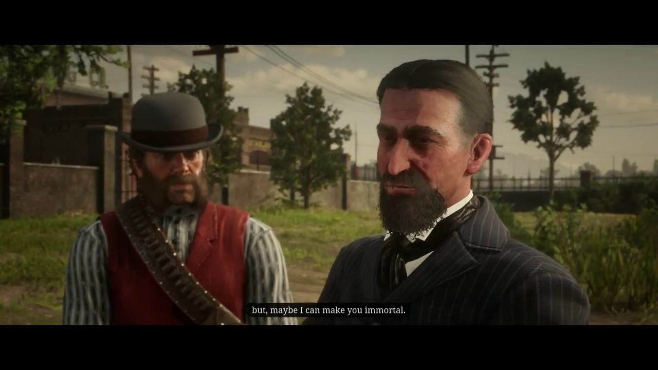 Red Dead Redemption 2 - A Bright Bouncing Boy: Arthur Meets Marko Dragic, Investors Cutscene (2018)