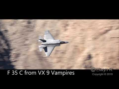 Low Level Flying In  Star Wars Canyon  USA