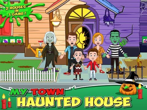 My Town: Haunted House  iPad app demo for kids  Ellie