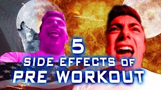 5 Side Effects of Pre-Workout