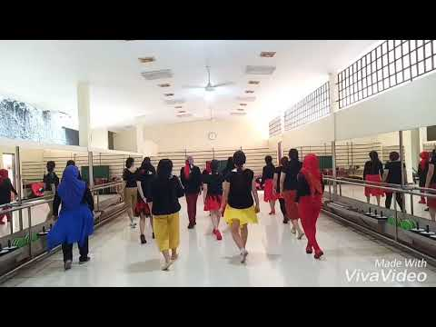 Energy of Asia Line Dance (Hotma Purba) Sept 2018